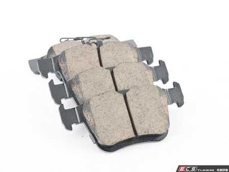 ES#3514464 - EUR1761 - Rear Ceramic Brake Pad Set - Restore the stopping power in your vehicle - Akebono - Audi Volkswagen