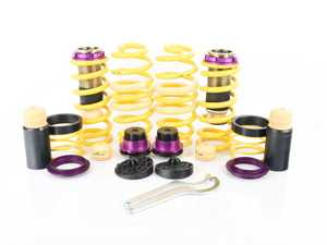 """ES#3427369 - 253100BH - KW H.A.S. - Height Adjustable Spring Kit - Retains the use of your factory shocks while providing the ability to adjust ride height from 0.6"""" to 1.6"""" Front 1.0"""" to 1.8"""" Rear - KW Suspension - Audi"""