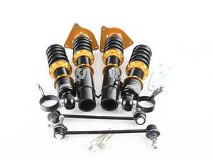 ES#3508553 - B010-S - ISC N1 Coilover Kit - Street Sport - A high quality, performance coilover kit at a low cost. Stiffer springs and street sport valving for aggressive street and occasional track use! - ISC Suspension - MINI