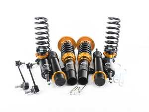 ES#3493605 - B005-S - ISC N1 Coilover Kit - Street Sport - A high quality, performance coilover kit at a low cost. Stiffer springs and street sport valving for aggressive street and occasional track use! - ISC Suspension - BMW