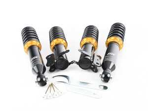 ES#3522254 - V002-T - ISC Basic Coilover Kit - Track & Race - A high quality, performance coilover kit at a low cost. Stiffer springs and race valving for ultimate performance. - ISC Suspension - Volkswagen