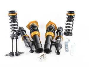 ES#3522271 - V017-S - ISC N1 Coilover Kit - Street Sport - A high quality, performance coilover kit at a low cost. Stiffer springs and street sport valving for aggressive street and occasional track use. - ISC Suspension - Volkswagen