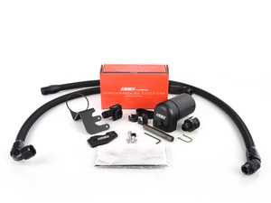 ES#3138254 - 017637ecs01KT - Performance Baffled Oil Catch Can System - Keep your intake tract clean and carbon free - ECS - Audi