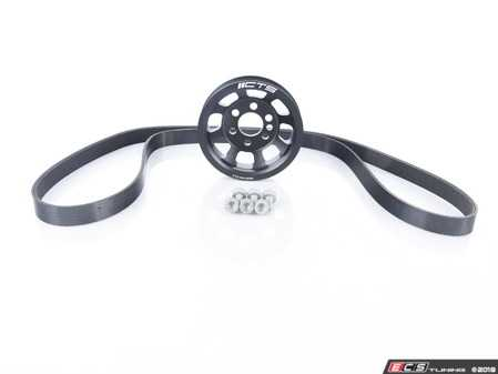 ES#2862936 - CTS-HW-0090-B7 - Lightweight Crank Pulley Kit - Faster revving and more horsepower for your Audi - CTS - Audi