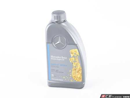 ES#2730078 - 0009898301USB6 - 5W-40 Full-Synthetic Engine Oil - Priced Each - One (1) Liter Bottle - Genuine Mercedes Benz - Mercedes Benz