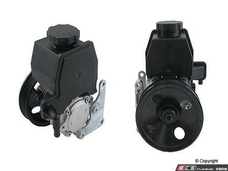 ES#2771257 - 0024662101 - Power Steering Pump  - Brand New Assembly - Includes Pulley - LUK - Mercedes Benz