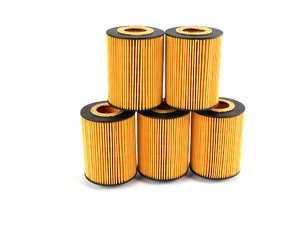ES#1892690 - 11427511161 - Oil Filter - 5 Pack - Stock Up And SAVE! - Includes all related gaskets - Hengst - BMW