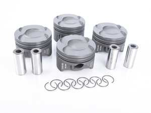 ES#3478022 - P4-MIN56-77.5CR9 - Forged Piston (Set Of 4) - 77.5mm (+0.50mm) Low Compression P4-MIN56-77.5-CR9.5 - Performance pistons in +0.50mm stock size: Low compression version - Supertech - MINI
