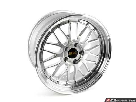 "ES#3514496 - lm280dspkKT - 19"" Style LM 280 Wheels - Square Set Of Four - 19x9.5 5x120 ET32 PSF. Diamond Silver center with a diamond cut lip. - BBS - BMW"