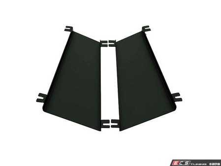 ES#3603486 - A0156A - Hood Louver Rain Guard Kit - Keep water off of the engine and divert it to the radiator - Verus Engineering - Volkswagen