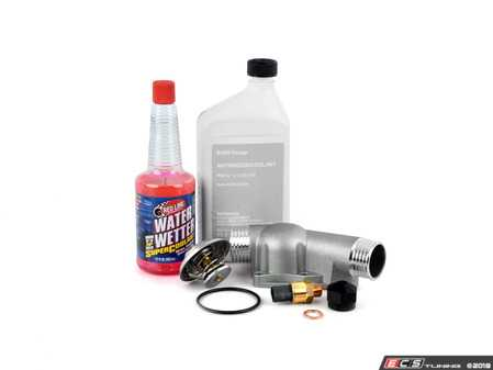 ES#2724965 - E36FNdkt -  Comprehensive Fan Delete Kit  - Free up some extra horsepower by deleting your fan - with upgraded aluminum thermostat housing and fan delete nut - Assembled By ECS - BMW