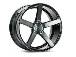 """ES#3603691 - cv3r-0m04-tgbKT1 - 20"""" CV3-R - Set Of Four - 20x9 ET25 5x112 - Tinted Gloss Black - Vossen - Audi Volkswagen"""