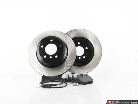 ES#3544057 - 025997ecs079KT1 - Performance Rear Brake Service Kit - Featuring ECS V4 Blank rotors and Hawk HPS pads - Assembled By ECS - BMW