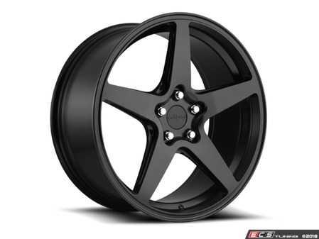 "ES#3603734 - r148198543+45KT1 - 19"" WGR Wheels - Set Of Four - 19x8.5, 5x112, ET45 - Matte Black Finish - Rotiform - Audi Volkswagen"