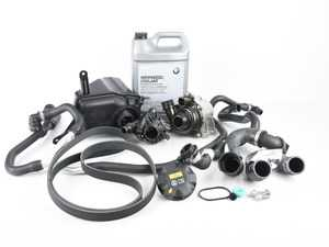 ES#3552895 - 171375429l2KT - ECS Cooling System Refresh Kit - Level 2 - A more advanced OE refresh kit - with with primary cooling system hoses and accessory belt - Genuine BMW - BMW