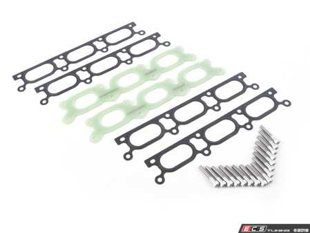 ES#2864570 - 034-108-9003-SP - Phenolic Intake Manifold Spacer Kit - Small Port - Phenolic Intake Manifold Spacer, 5mm Thickness to Prevent Heat Conductivity to the Intake Manifold From the Cylinder Head. - 034Motorsport - Audi