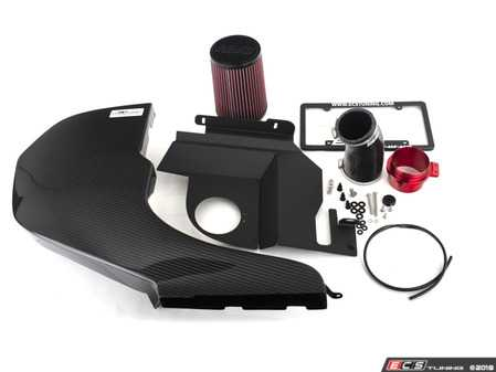 ES#3545247 - 023796ECS04 - Audi B9 S4/S5 3.0T Kohlefaser Luft-Technik Intake System - Enhance your engine's performance with gains up to 16 Wheel Horsepower and 15 foot pounds of torque with our ECS Carbon Fiber Cold Air Intake - ECS - Audi