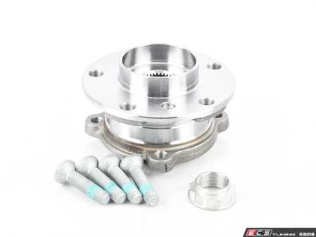 ES#3089706 - 31206779735 - Front Wheel Hub/Bearing Assembly - Priced Each - Includes retaining bolts and axle nut - Optimal - BMW