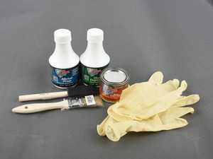 ES#3579664 - POR40909 - POR15 Super Starter Kit Gloss Black - Every thing you need to take care of that rusty area - POR-15 - Audi BMW Volkswagen Mercedes Benz MINI Porsche
