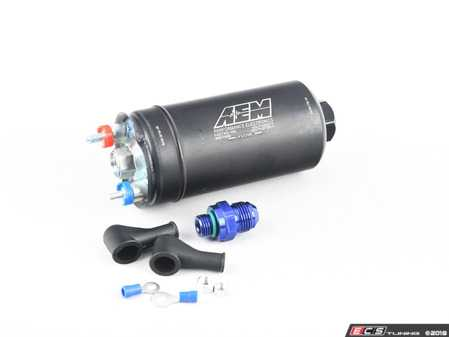 ES#3603936 - 50-1005 - 400LPH High Flow Fuel Pump (AN Fittings) - Designed for high performance naturally aspirated and forced induction EFI vehicles - It can be installed externally or in-tank using optional hardware that is sold separately - AEM - Audi Volkswagen