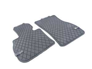 ES#3185855 - 51472447606 - Essentials Front All Weather Rubber Factory Floor Mats Set Black - Priced As Set  - Replace or upgrade to factory MINI mats - Genuine MINI - MINI