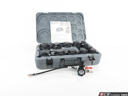 ES#3200050 - lis69700 - Turbo System Leakage Test Set - Keep your turbo at peak performance with this test kit. - Lisle - Audi BMW Volkswagen Mercedes Benz MINI Porsche