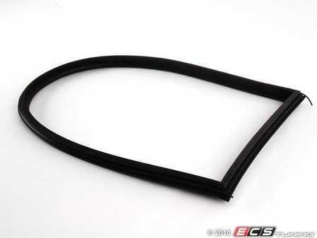 ES#96049 - 51368252621 - Vent Window Inner Gasket Seal - Black - Fits both left and right sides - Genuine BMW - BMW