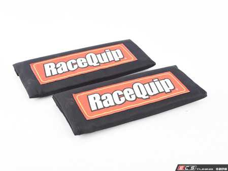 ES#3505597 - 767001 - Racing Harness Pads - Black - Increases your comfort and keeps the harness from digging into to sensitive spots of your body. - Racequip - Audi BMW Volkswagen Mercedes Benz MINI Porsche