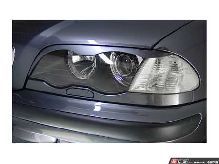 ES#3604264 - BPMEE46SL - Painted Eyebrows  - A paint matched eyebrow set for your E46 Sedan. - Bimmian PaintWerke - BMW