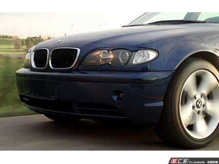 ES#3604213 - BPMEE46S - Painted Eyebrows  - A paint matched eyebrow set for your E46 Sedan. - Bimmian - BMW