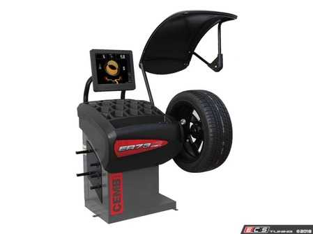ES#3604387 - ER73TD - Professional Touchscreen Wheel Balancer - Features automatic distance and diameter entry with width sonar and spotter laser for exact weight location - CEMB USA - Audi BMW Volkswagen Mercedes Benz MINI Porsche