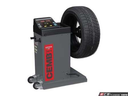 ES#3604391 - EZ29 - Portable Digital Wheel Balancer - Features wheels for easy portability and includes battery, 12v DC, and 110v AC power options - CEMB USA - Audi BMW Volkswagen Mercedes Benz MINI Porsche