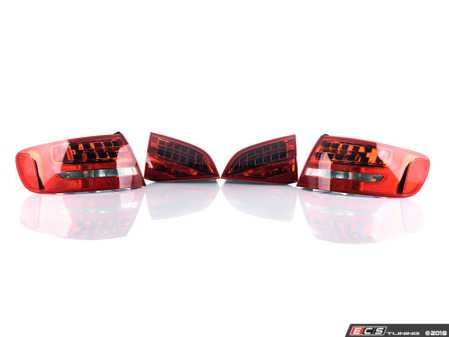 ES#2500763 - 1337874U1337884U - Euro Spec LED Taillight Set - Includes inner and outer tail lamp housings - Automotive Lighting - Audi