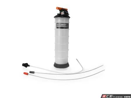 ES#3536554 - 025857sch01a - Schwaben 6-Liter Dual Powered Oil Extractor - Extract all types of oils and fluids the easy way. Do your oil change without getting under the car. Works with air supply or by hand via internal pump. - Schwaben - Audi BMW Volkswagen Mercedes Benz MINI Porsche