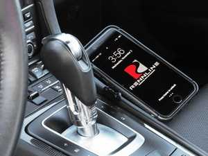 ES#3552619 - PM0103 - ExactFit Magnetic Phone Mount 991/981 - Center Console Mount - Safely & securely mount your cell phone - Rennline - Porsche