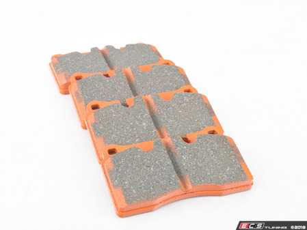 ES#2619918 - DP91908 - Extra Duty Orangestuff Front Brake Pad Set - Great for towing or other heavy duty applications - EBC - Volkswagen