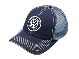 ES#3563208 - DRG004927 - 1949 Circle Cap - Crafted with a lightly structured feel with a mid-profile. - Genuine Volkswagen Audi - Volkswagen