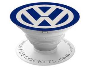 ES#3549922 - DRG007289 - VW PopSocket - Royal blue with white VW logo. - Genuine Volkswagen Audi - Volkswagen