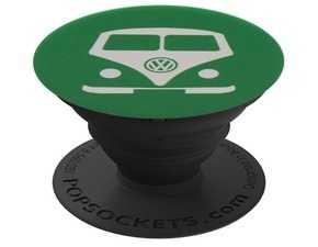 ES#3549923 - DRG007290 - Bus PopSocket  - Kelly green with white bus imprint. - Genuine Volkswagen Audi - Volkswagen