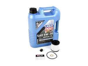 ES#3199985 - 11427622446kt5 - MINI Liqui Moly 5w-30 Oil Service Kit Gen 2 - With ECS Magnetic Drain Plug - All in one service for your MINI - Assembled By ECS - MINI