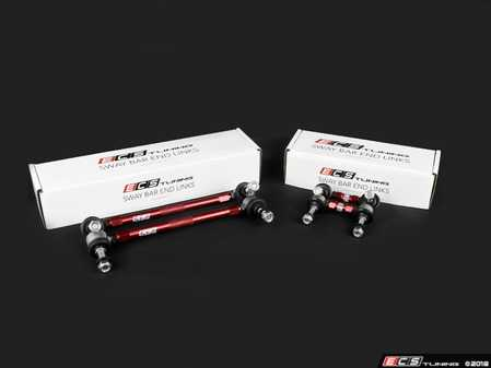 ES#3604734 - 018319ecs01-01KT - Adjustable Front & Rear Sway Bar End Link Kit - A must have for lowered suspensions or as a heavy duty OE-replacements - ECS - Audi Volkswagen