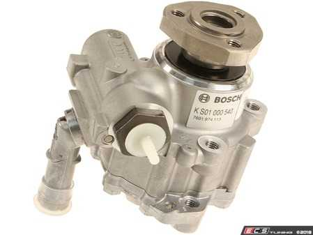 ES#3604906 - 6k0422154KT - Remanufactured Power Steering Pump - Price includes $55 refundable core charge - Bosch - Volkswagen
