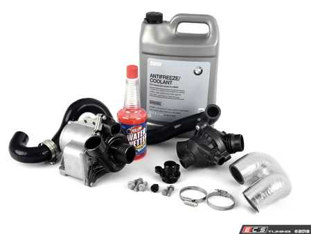 ES#3604207 - 11517632426KT10 - Ultimate Water Pump And Thermostat Kit - Replace your water pump & add strength to your cooling system! - Assembled By ECS - BMW