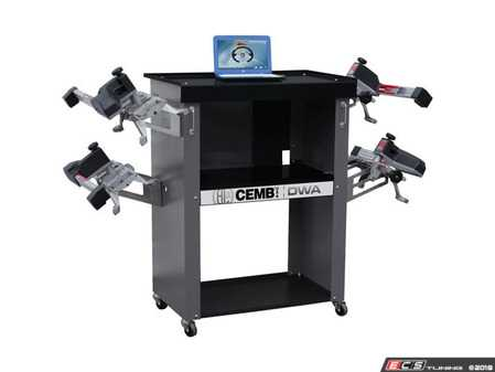 ES#3604381 - DWA1000XLB -    Basic Wheel Alignment System - Includes laptop computer and storage cabinet - CEMB USA - Audi BMW Volkswagen Mercedes Benz MINI Porsche