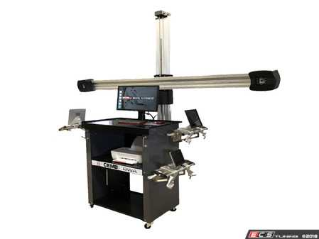 ES#3604383 - DWA3400 -  3D Wheel Alignment System - Measures all required alignment specifications and features a movable camera boom - CEMB USA - Audi BMW Volkswagen Mercedes Benz MINI Porsche