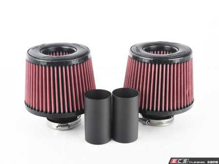 Burger Tuning BMS DCI N54 Dual Cone Intake Red Filters for BMW 135i 335i 535i