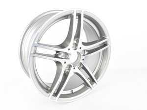 "ES#3426620 - 0100ECSSD - Style 313 M Double spoke wheel - priced each *Scratch And Dent* - 18x7.5"" ET49 5x120 - Genuine BMW - BMW"