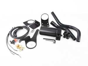 ES#3570204 - 022515tms04 - Turner N55 Baffled Oil Catch Can System - A 4 chamber, baffled oil catch can with valved drain system - complete with an application-specific mounting hardware and silicone hoses - Turner Motorsport - BMW