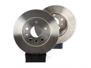ES#2678239 - 1264230012KT6 - Rear Brake Rotors - Pair - Keep your brakes working like new - Brembo - Mercedes Benz