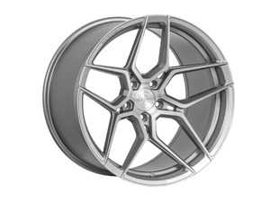 "ES#3676211 - fx1119855112KT3 - 19"" RFX11 Wheels - Set Of Four - 19""x8.5"", ET35, 5x112 - Brushed Titanium - Rohana Wheels - Audi Volkswagen"